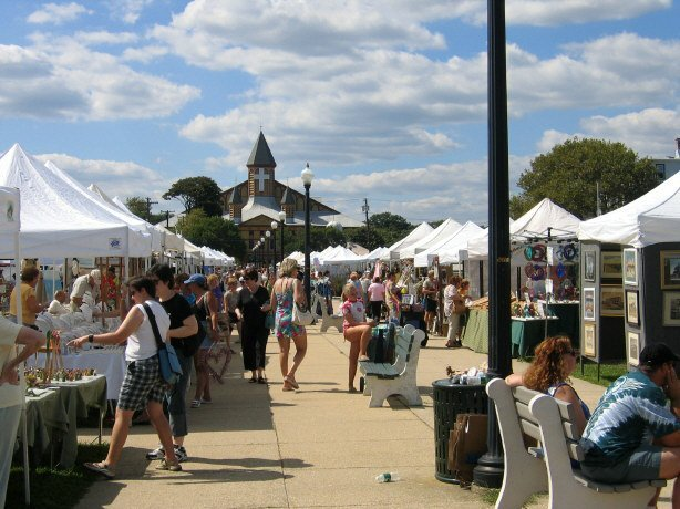 Ocean Grove's Giant Fall Flea Market on September 7, 2019