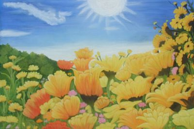 field of sunflowers 2