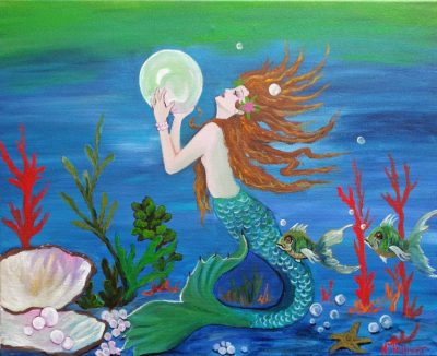 mermaid, fantasy, legend,