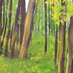 Main Avenue Galleria Art Class, Acrylic Painting, Norma Tolliver, Ocean Grove