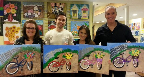 Sips & Serendipity, guided art classes, ocean grove, asbury park