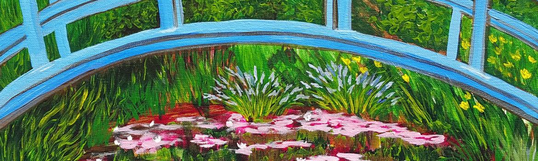 main avenue galleria, sips & serendipity, guided painting classes, ocean grove, nj