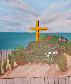 Sips & Serendipity, guided painting class, ocean grove, beach dunes