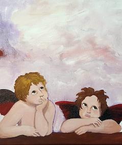 Sips Raphael's Angels