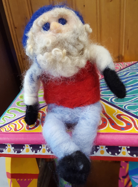 Sculpted Needle Felting Ralph (Tolliver)