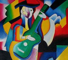 picasso-guitarist