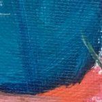 Mermaid Tail in Acrylics