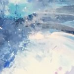 Ocean Wave in Acrylics