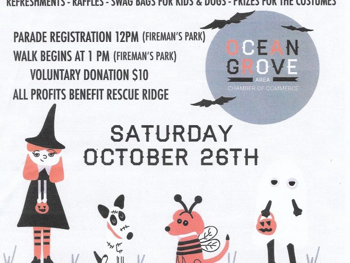Boo and Bark Parade for Dogs & Children