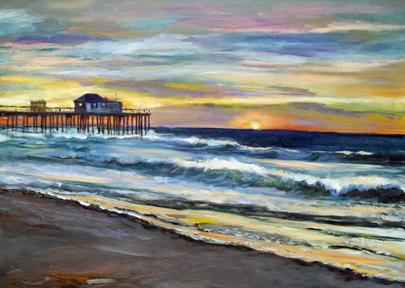 Artist Paint Around